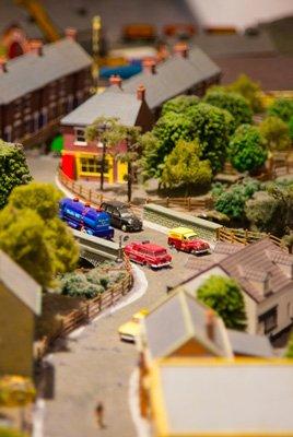 Plastic-miniature-town
