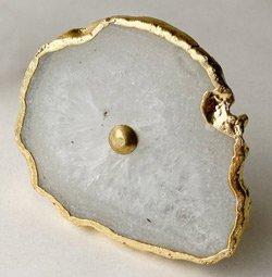 Agate-stone-knob